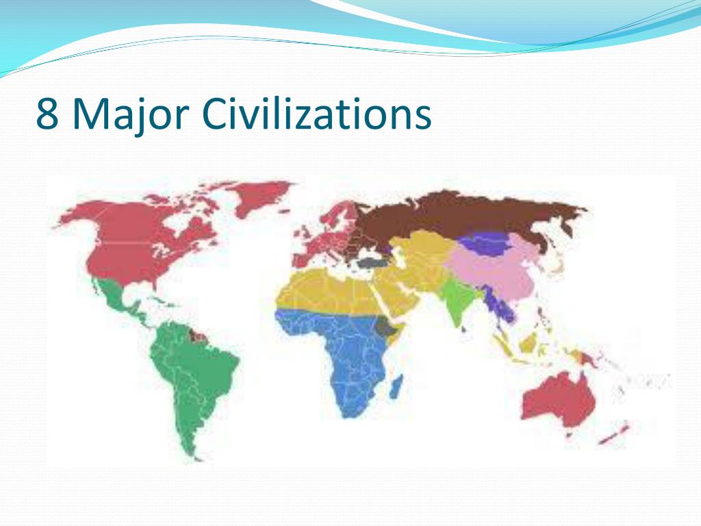 8 Major Civilizations