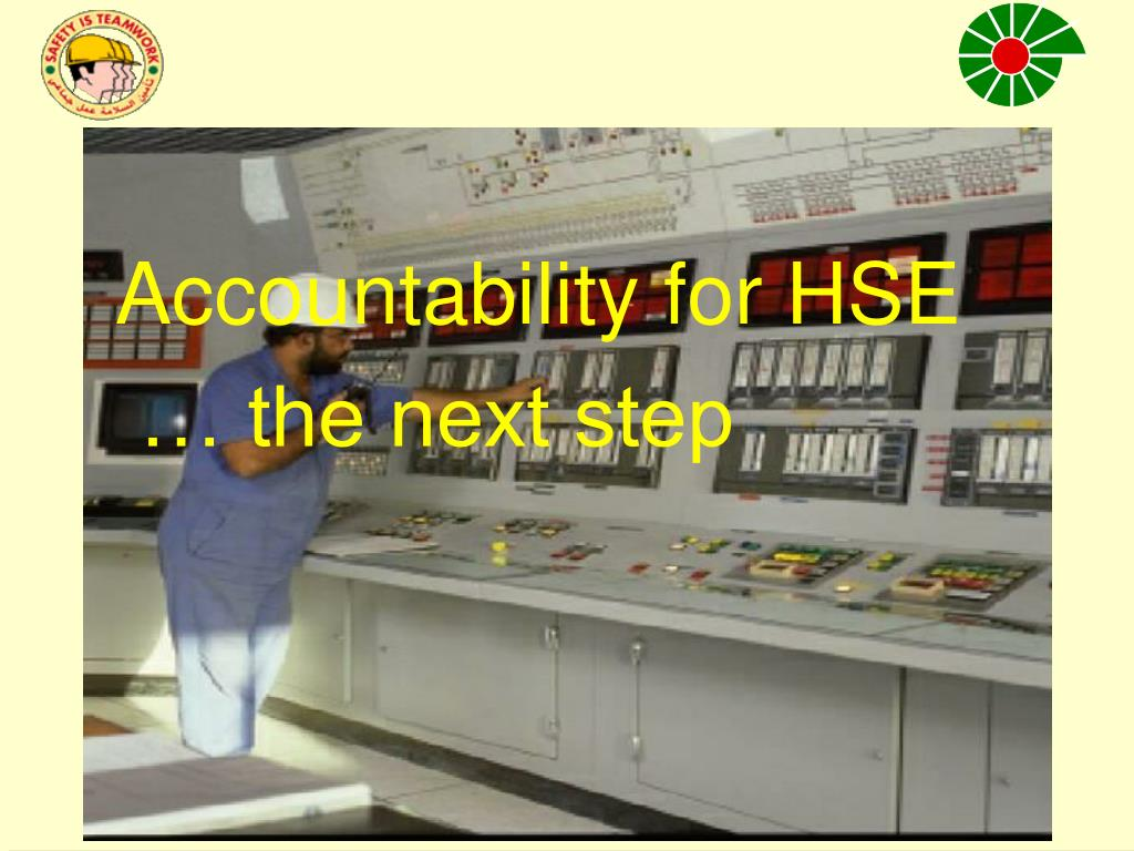 Accountability for HSE