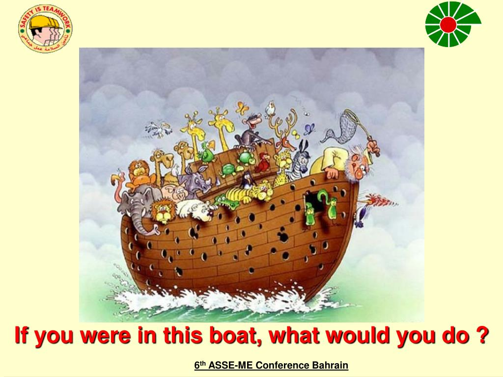 If you were in this boat, what would you do ?