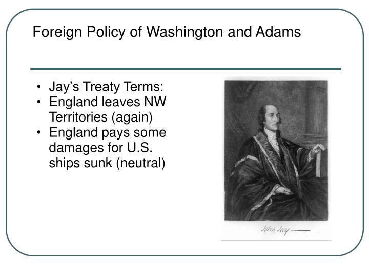 Jay's Treaty Terms: