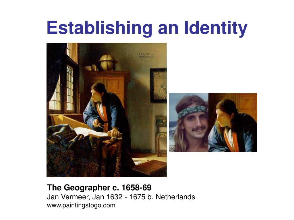 Establishing an Identity