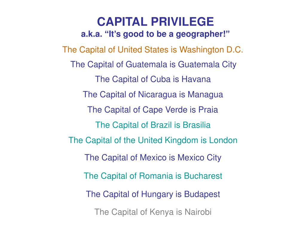 CAPITAL PRIVILEGE