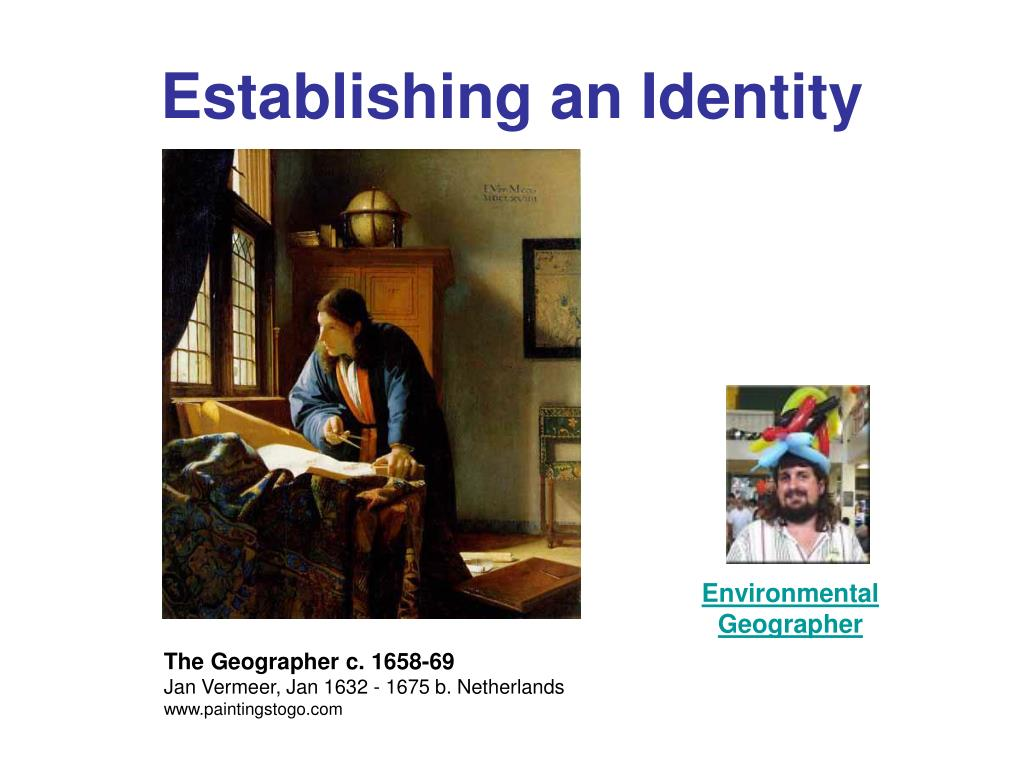 Establishing an Identity