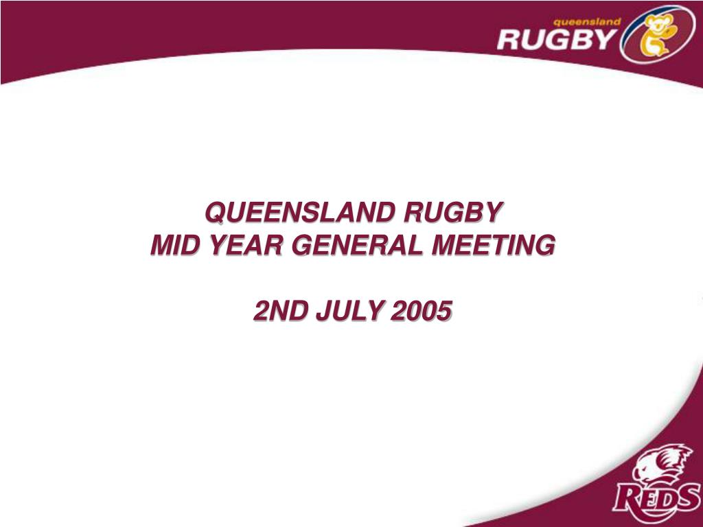 QUEENSLAND RUGBY