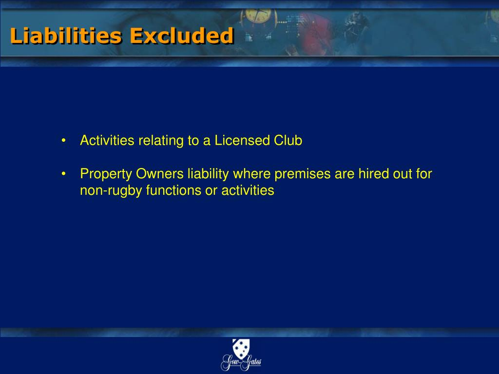 Liabilities Excluded