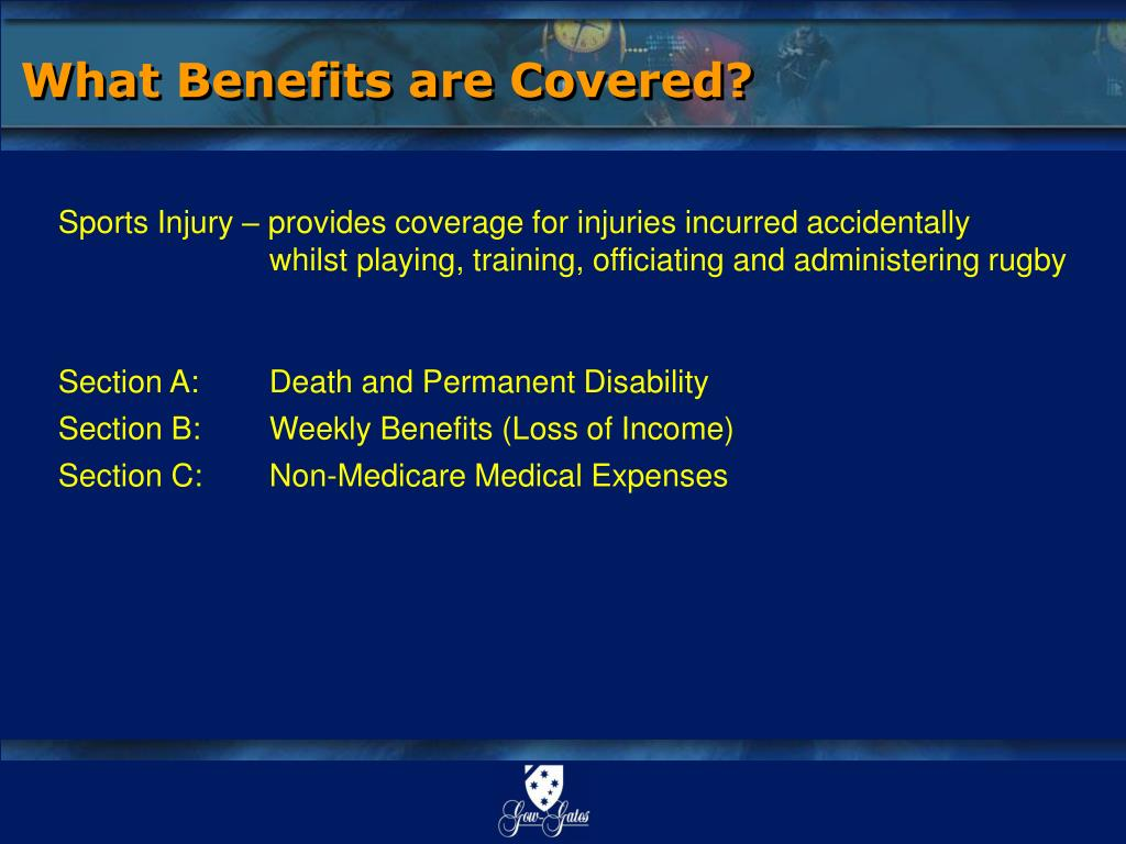 What Benefits are Covered?