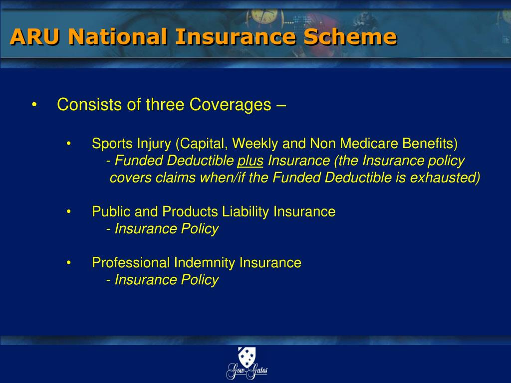 ARU National Insurance Scheme