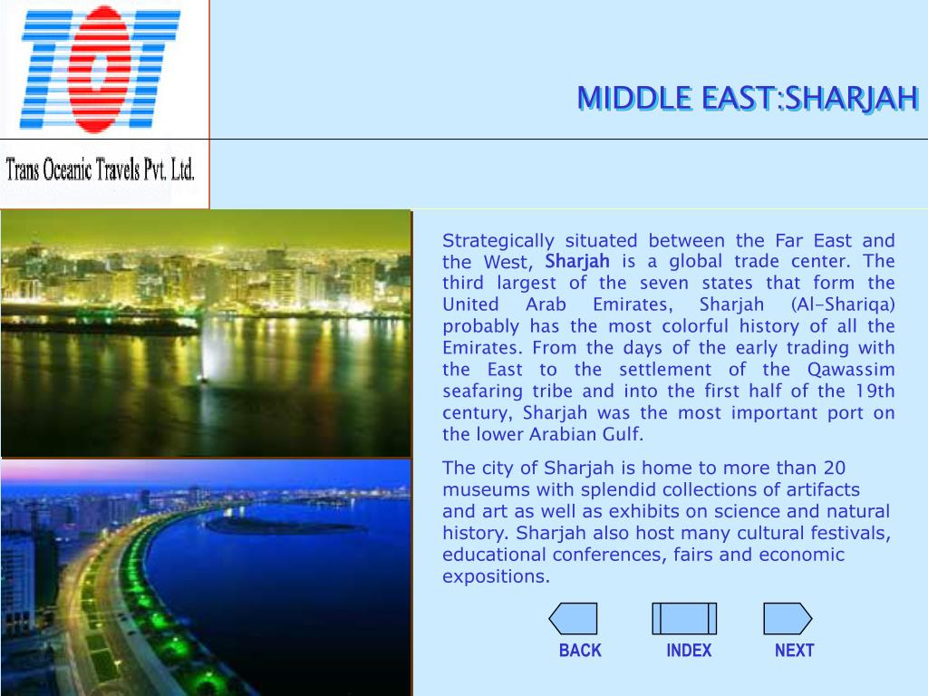 MIDDLE EAST:SHARJAH