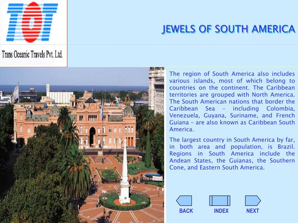 JEWELS OF SOUTH AMERICA