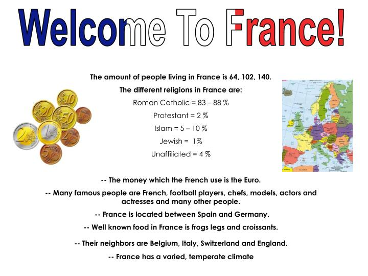 Welcome To France!