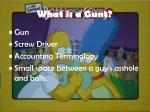 what is a gunt
