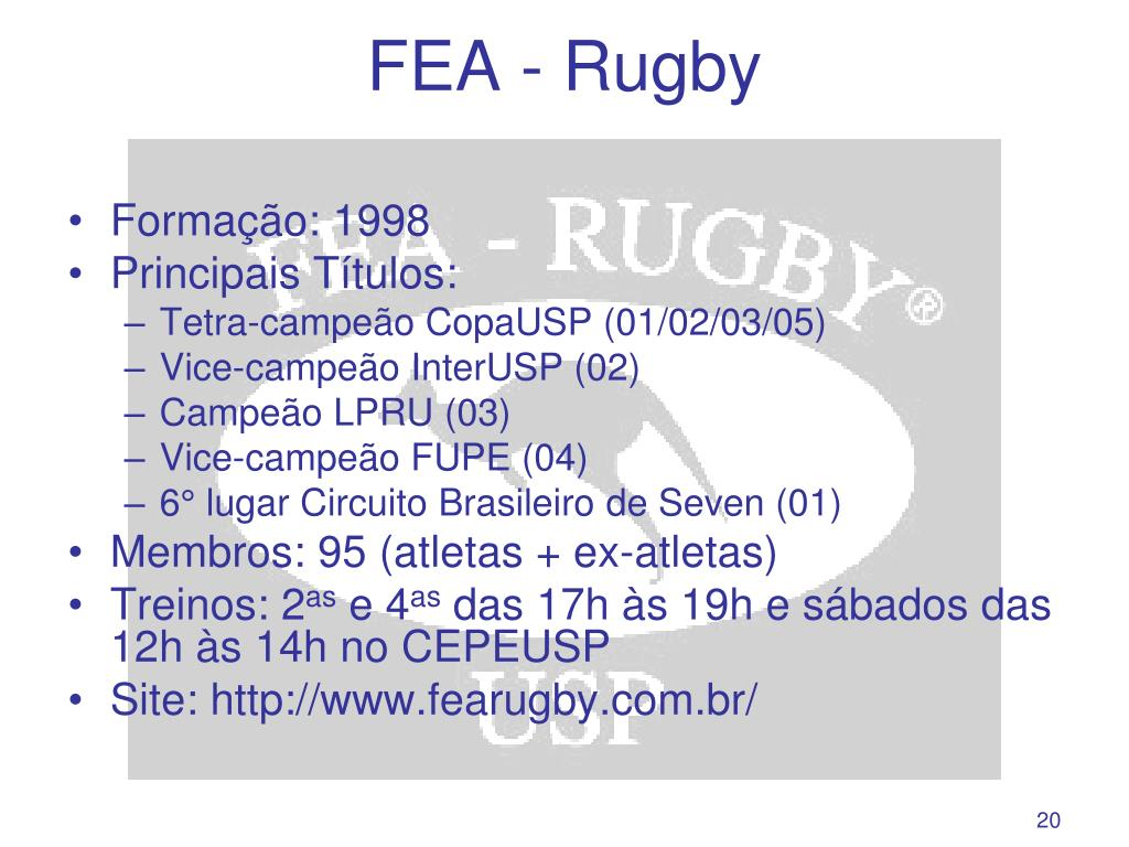 FEA - Rugby