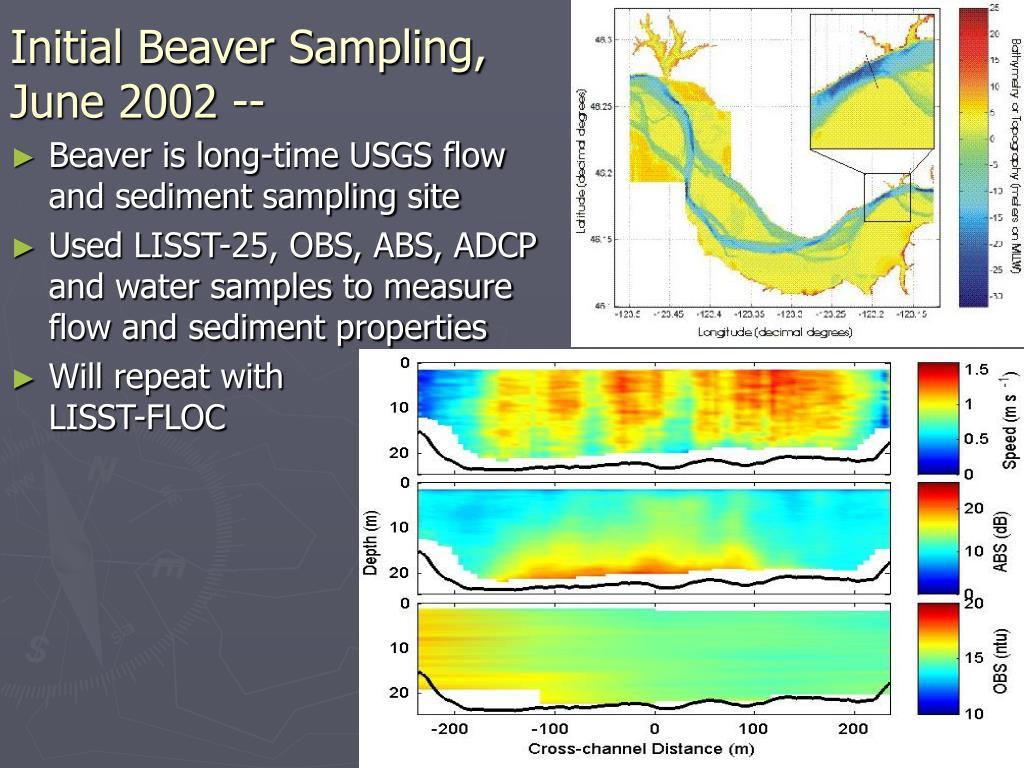Initial Beaver Sampling,
