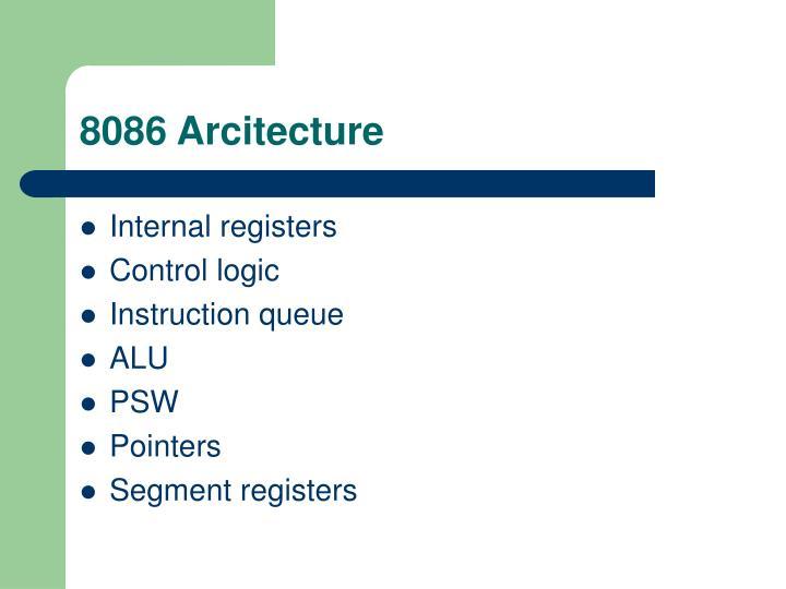 8086 Arcitecture