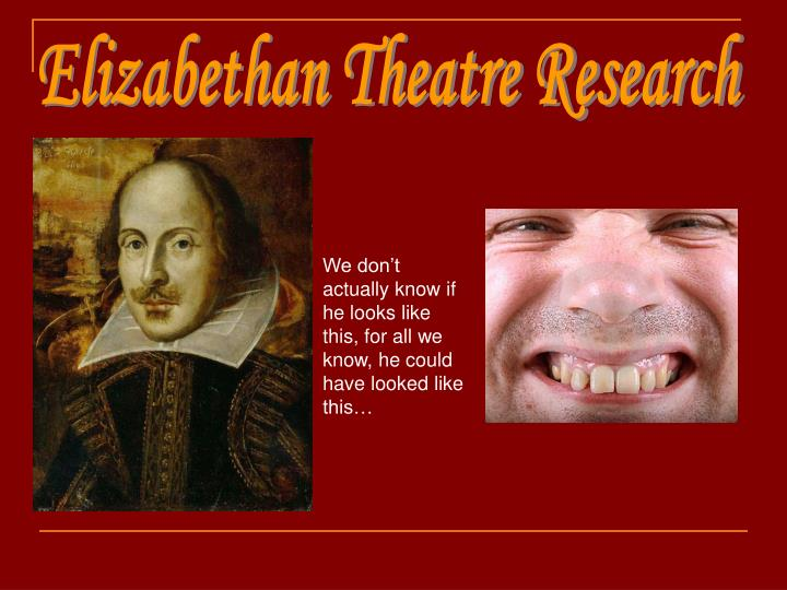 Essay about elizabethan theatre stage (creative writing