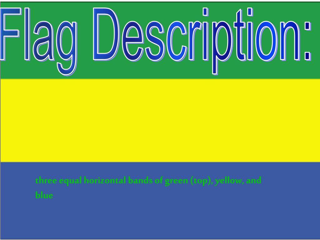 Flag Description: