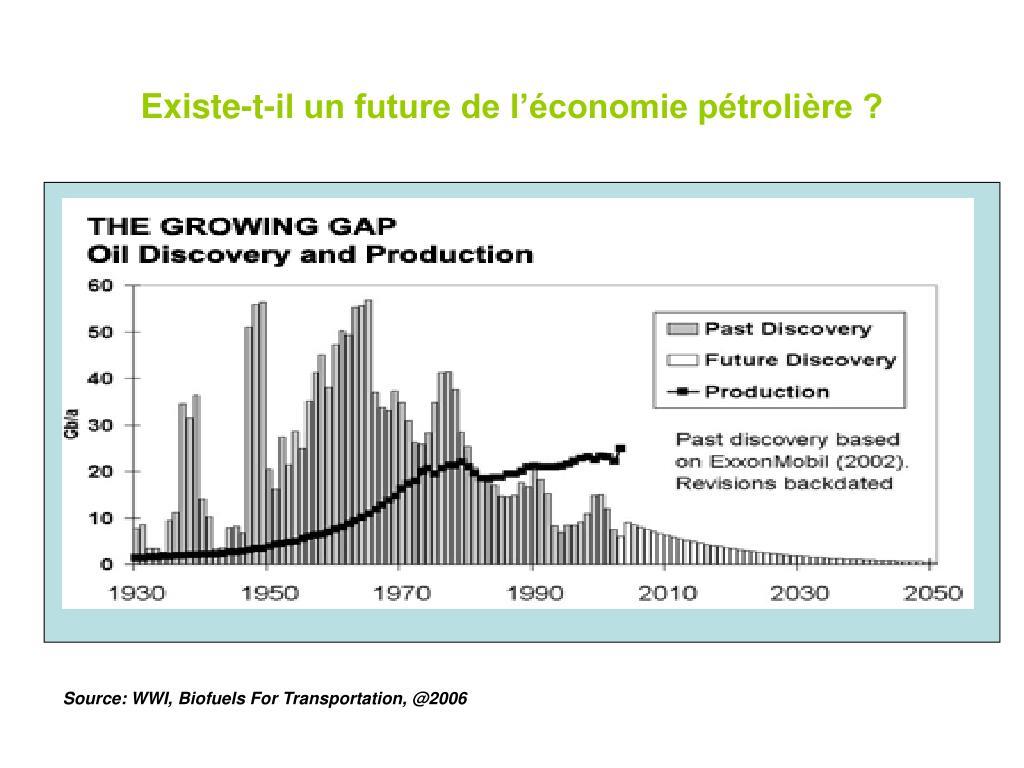 Existe-t-il un future de l'économie pétrolière ?