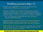 building partnerships 2