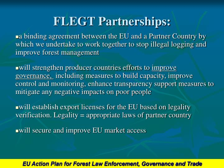 Flegt partnerships l.jpg