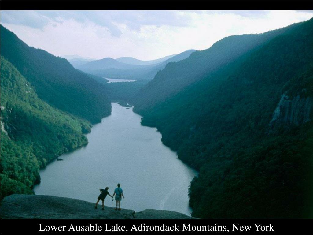 Lower Ausable Lake, Adirondack Mountains, New York