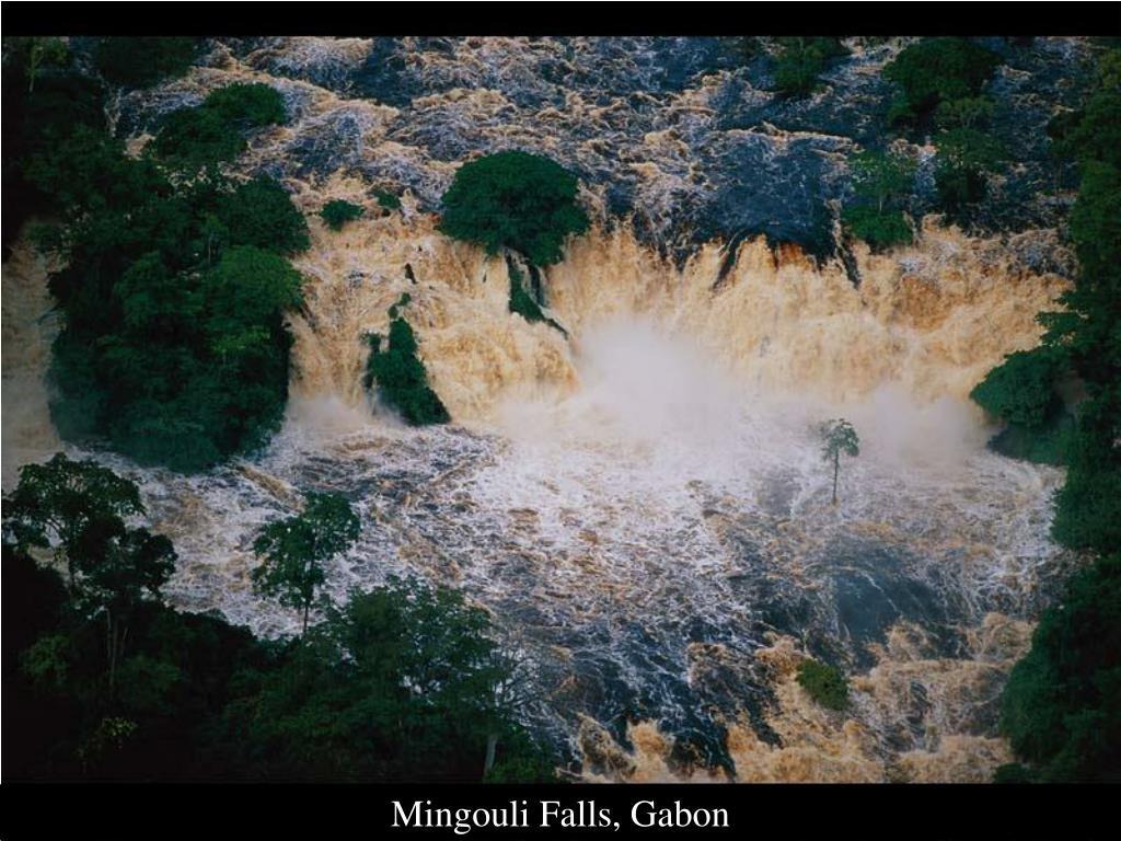 Mingouli Falls, Gabon