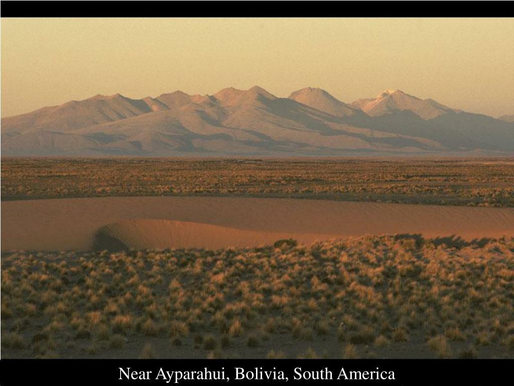 Near Ayparahui, Bolivia, South America