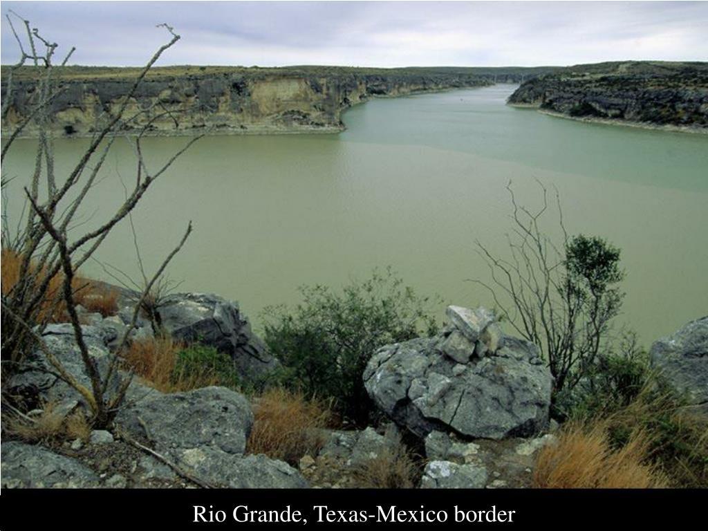 Rio Grande, Texas-Mexico border