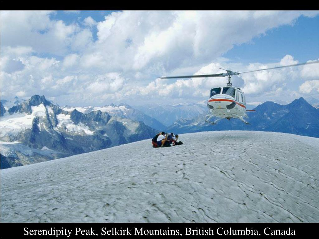 Serendipity Peak, Selkirk Mountains, British Columbia, Canada