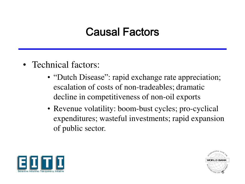 Causal Factors