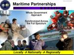 maritime partnerships
