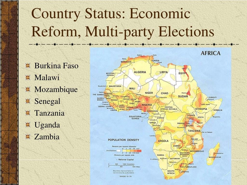 Country Status: Economic Reform, Multi-party Elections