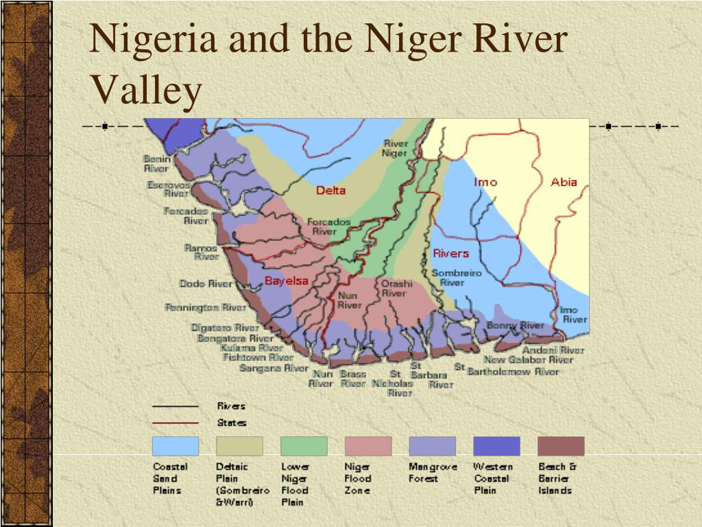Nigeria and the Niger River Valley