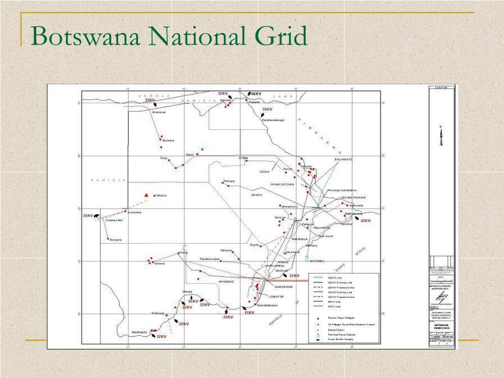 Botswana National Grid