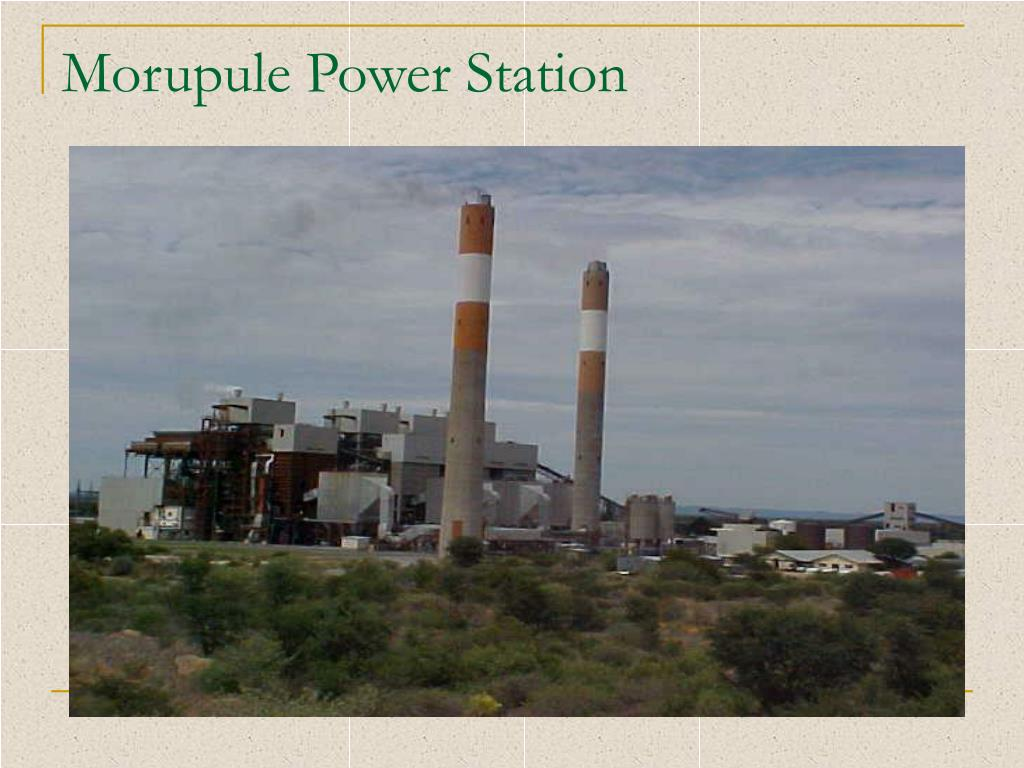 Morupule Power Station