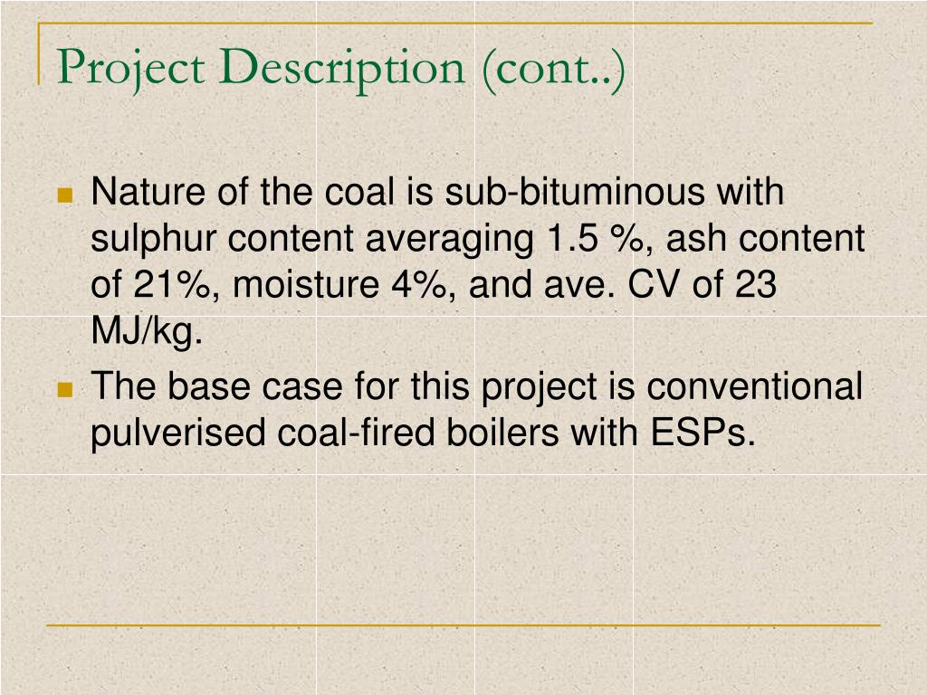 Project Description (cont..)