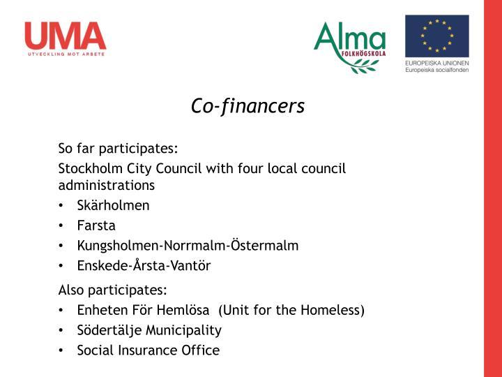 Co-financers