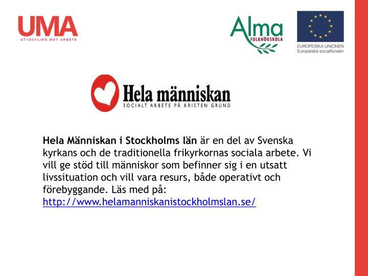 Hela Människan i Stockholms län