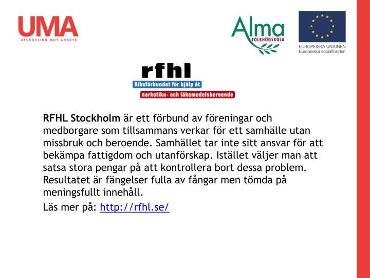 RFHL Stockholm