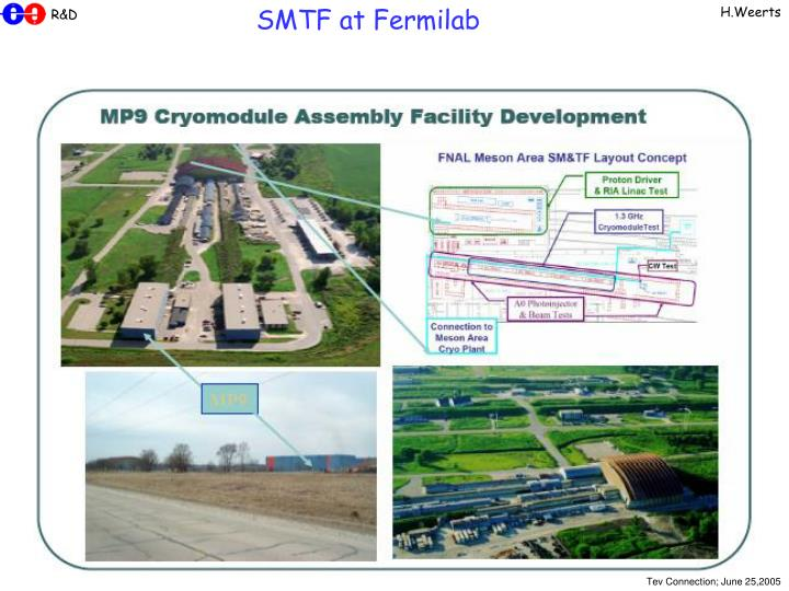 SMTF at Fermilab