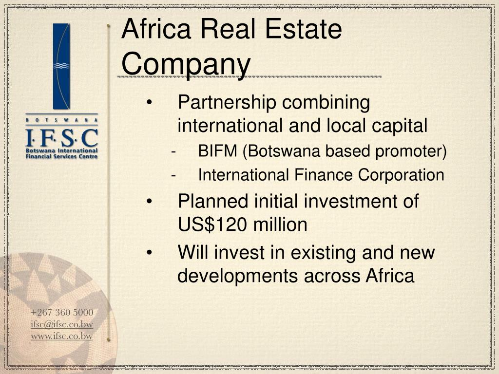 Africa Real Estate