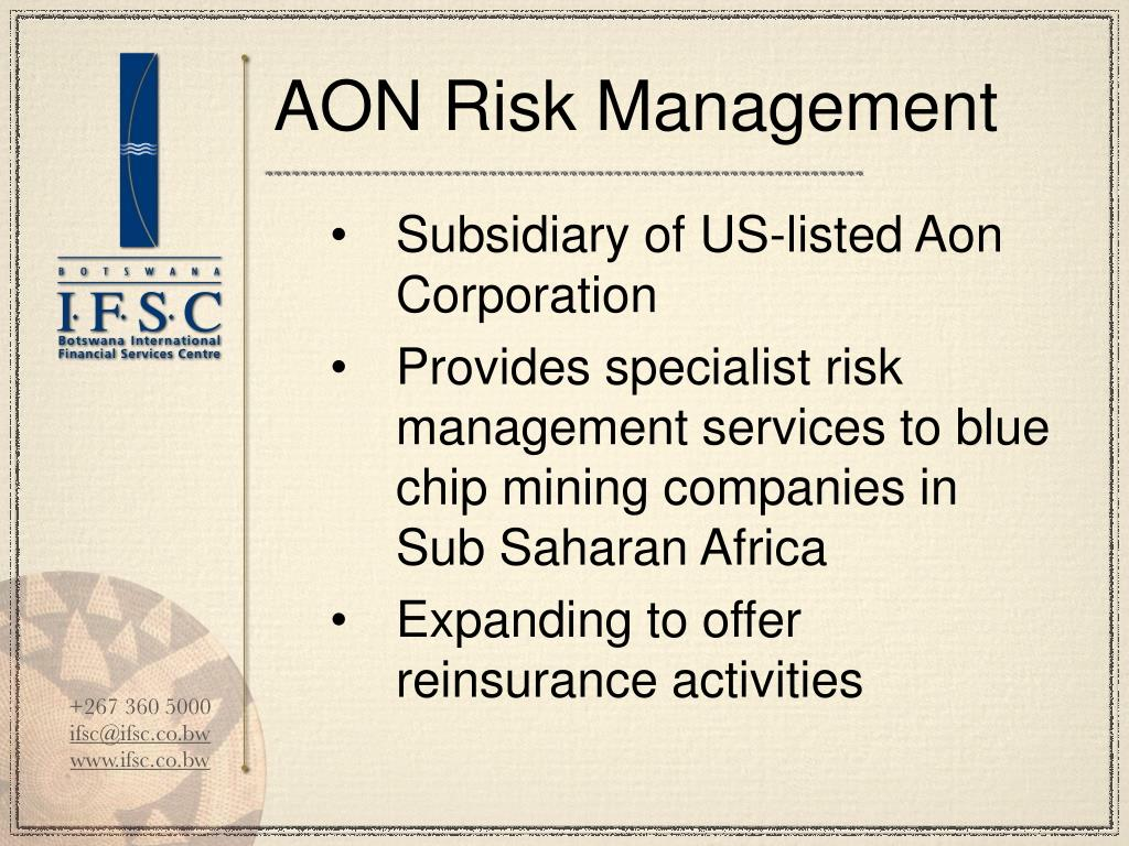 AON Risk Management