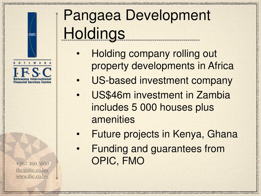 Pangaea Development