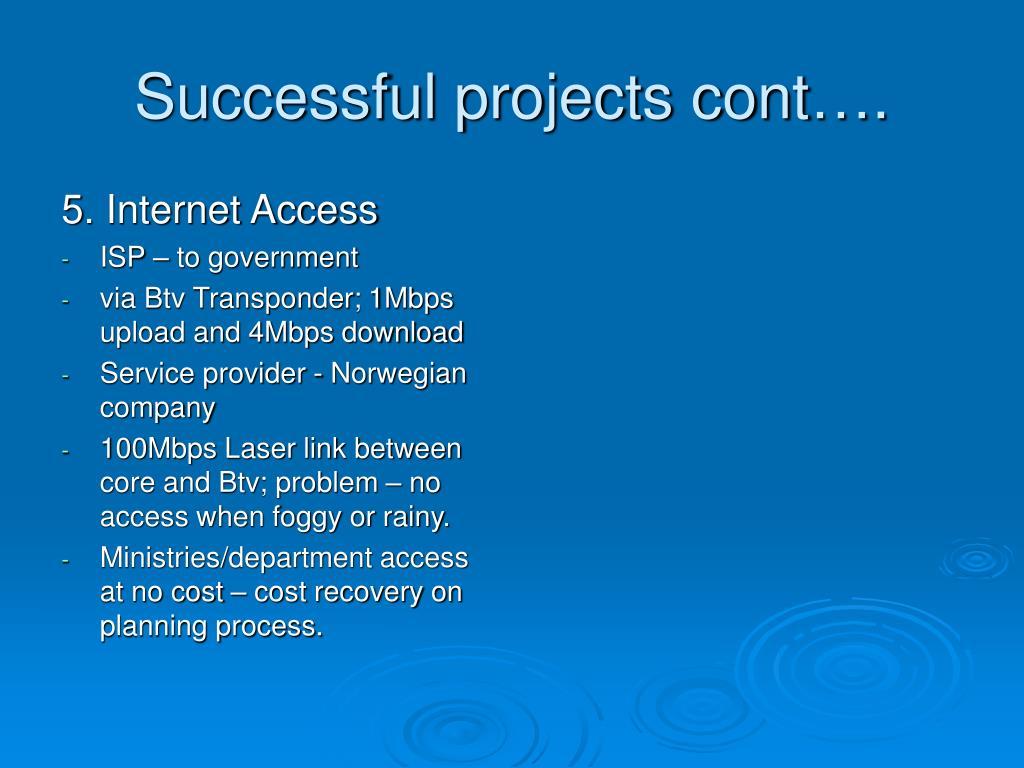 5. Internet Access