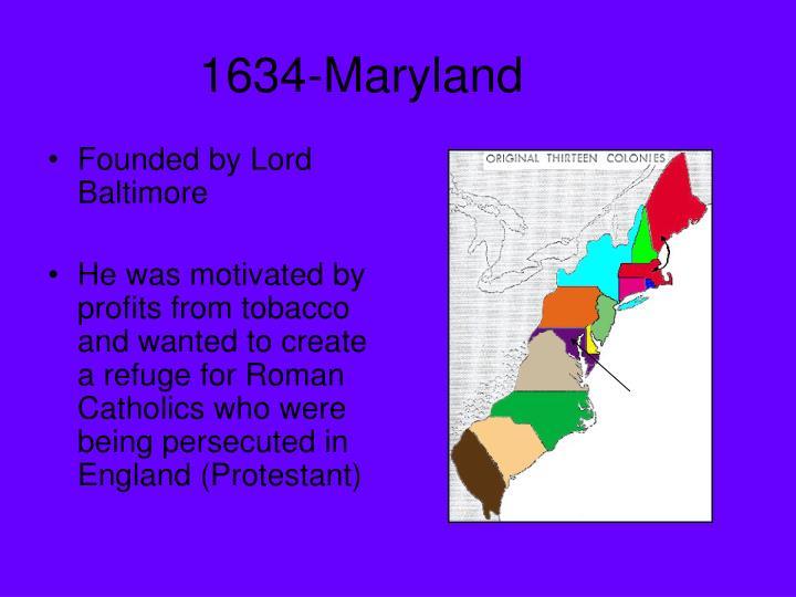 1634-Maryland