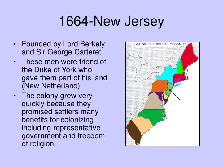 1664-New Jersey
