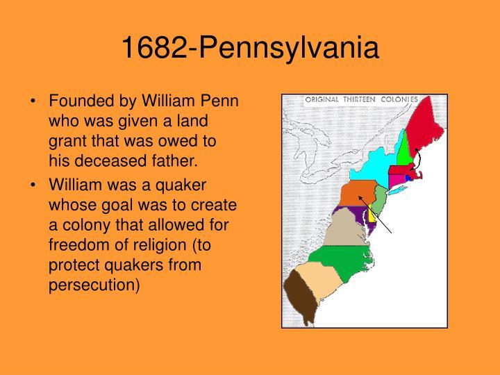 1682-Pennsylvania