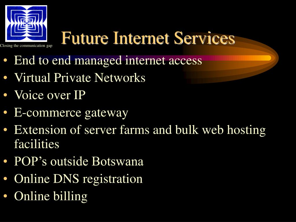 Future Internet Services