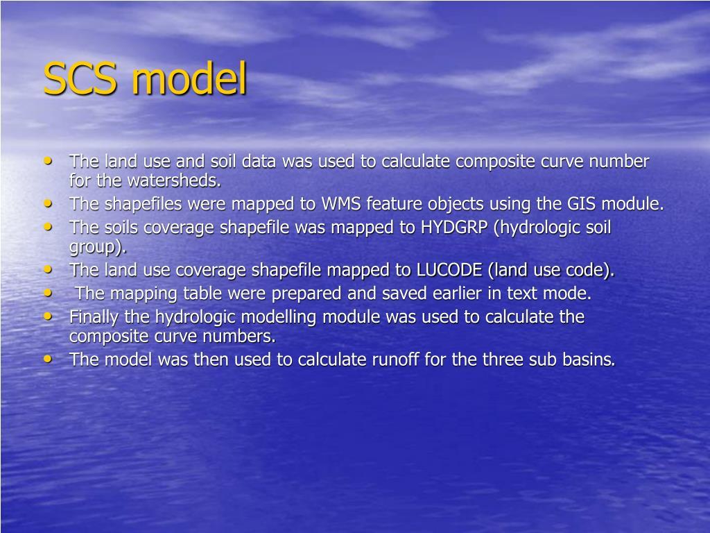 SCS model