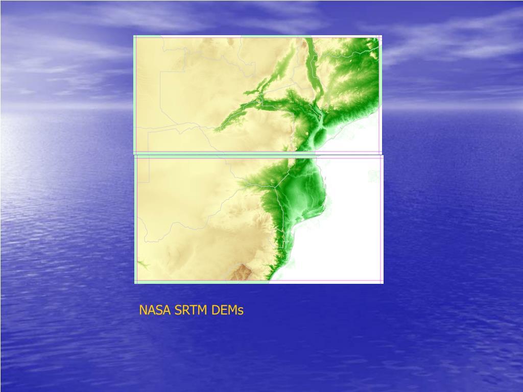 NASA SRTM DEMs