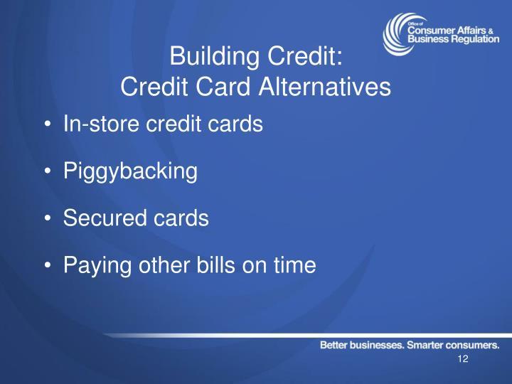 Building Credit: